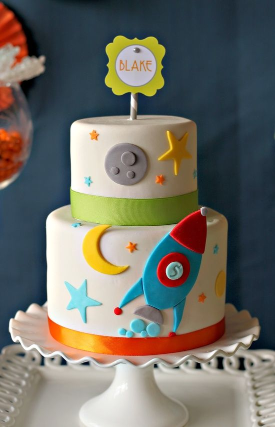 Swell Blast Off Birthday Cake Boy Birthday Cake Rocket Cake Outer Funny Birthday Cards Online Inifofree Goldxyz