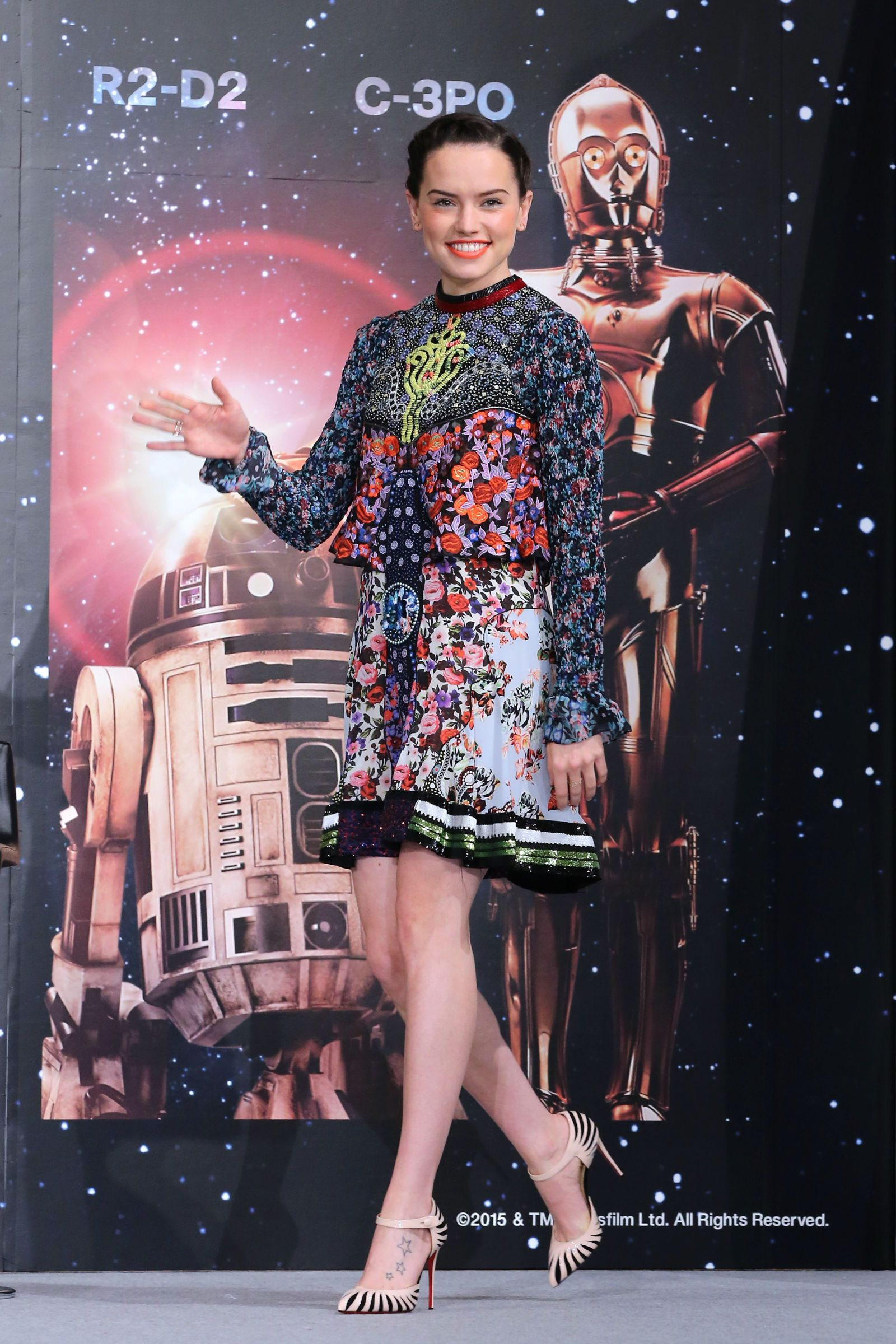Daisy Ridley: Star style from the galaxy's newest heroine