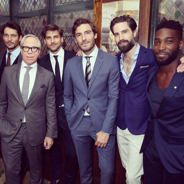 Tommy Hilfiger celebrates his first menswear presentation at #LCM @tommyhilfiger