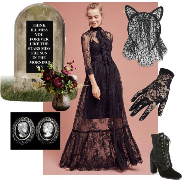 A fashion look from November 2016 by mars-hel featuring Tracy Reese, Steve Madden, Maison Michel, Casetify, Black and Abigail Ahern