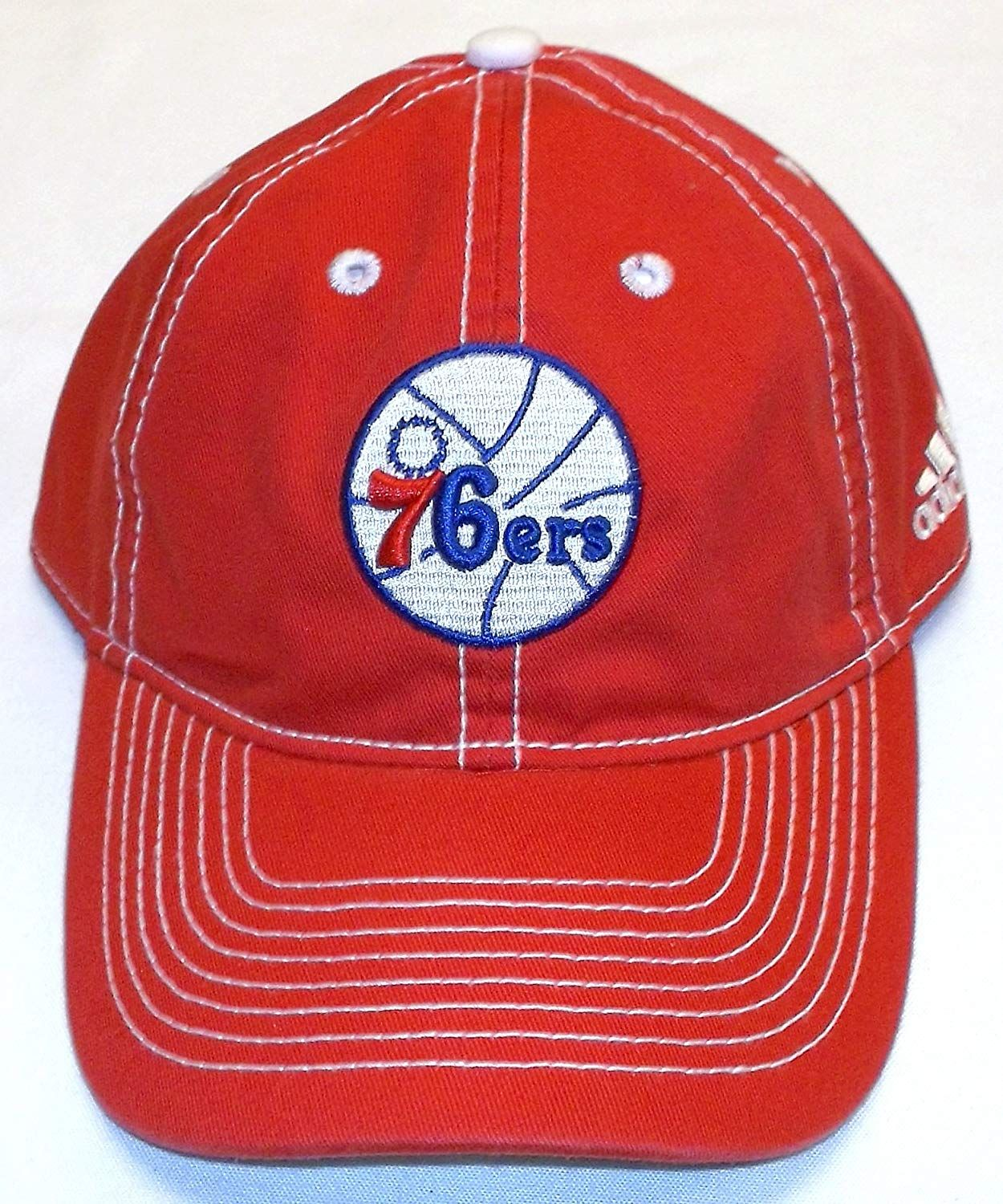 Philadelphia 76ers Slouch Adjustable Adidas Hat e24a6952f250
