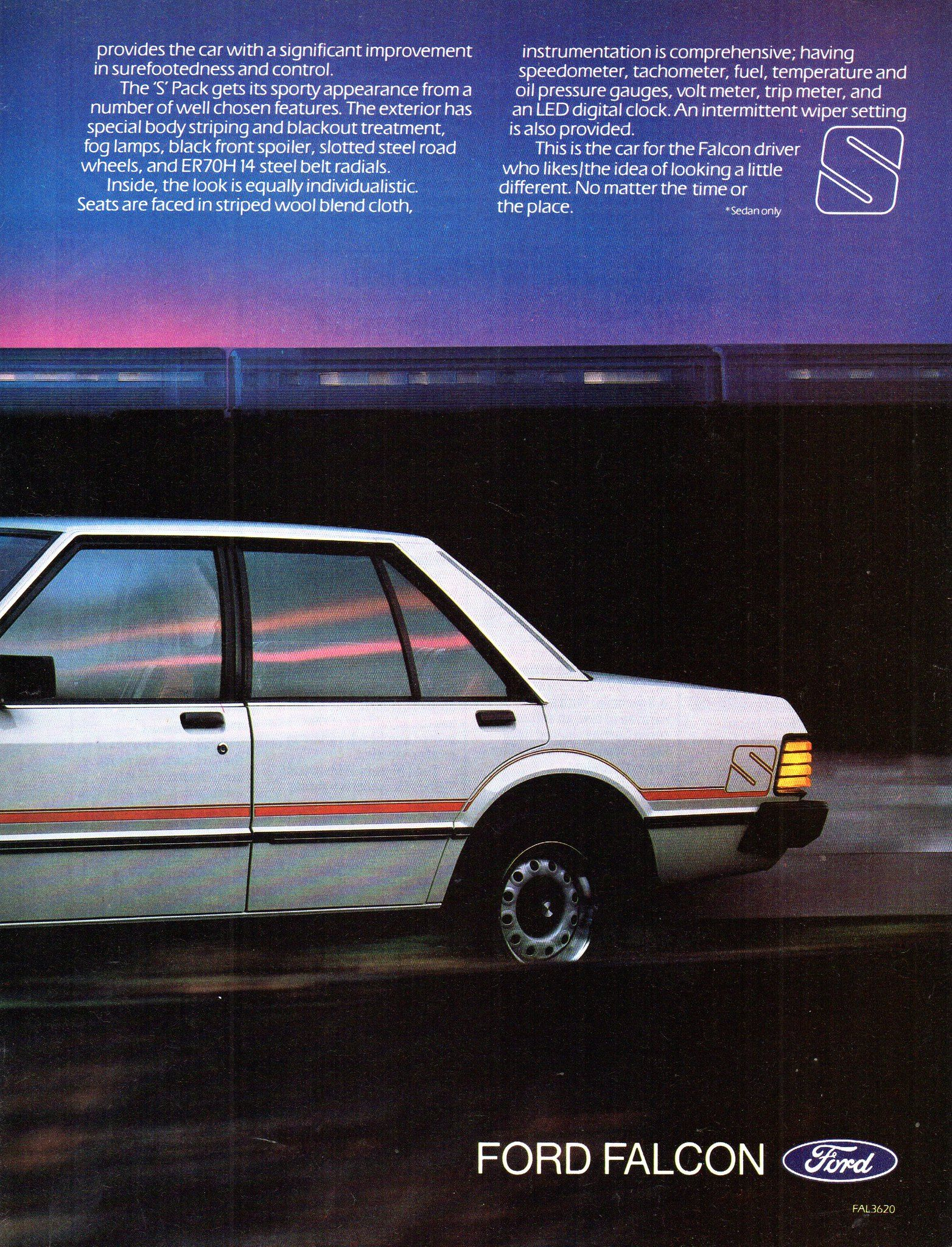 1982 Xe Ford Falcon S Pack Sedan Page 2 Aussie Original Magazine