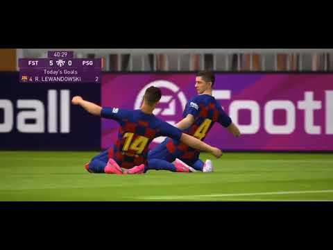 BARCELONA VS PSG 12 0 FULL MATCH HD PES 2020 MOBILE
