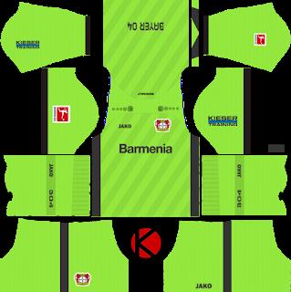 Bayer Leverkusen 2019 2020 Kit Dream League Soccer Kits Soccer Kits Goalkeeper Kits Soccer