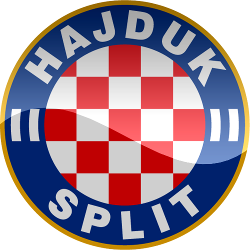 Hnk Hajduk Split Croatia Hnk Hajduk Split Football Team Logos Football Logo