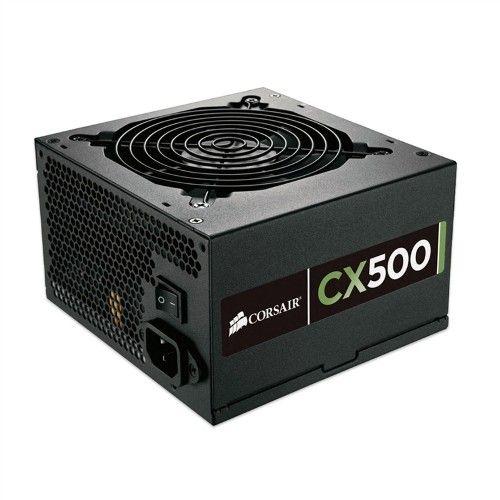 Mega Mamute Fonte 500W CX500 CP-9020047-WW CORSAIR - R$ 288,57