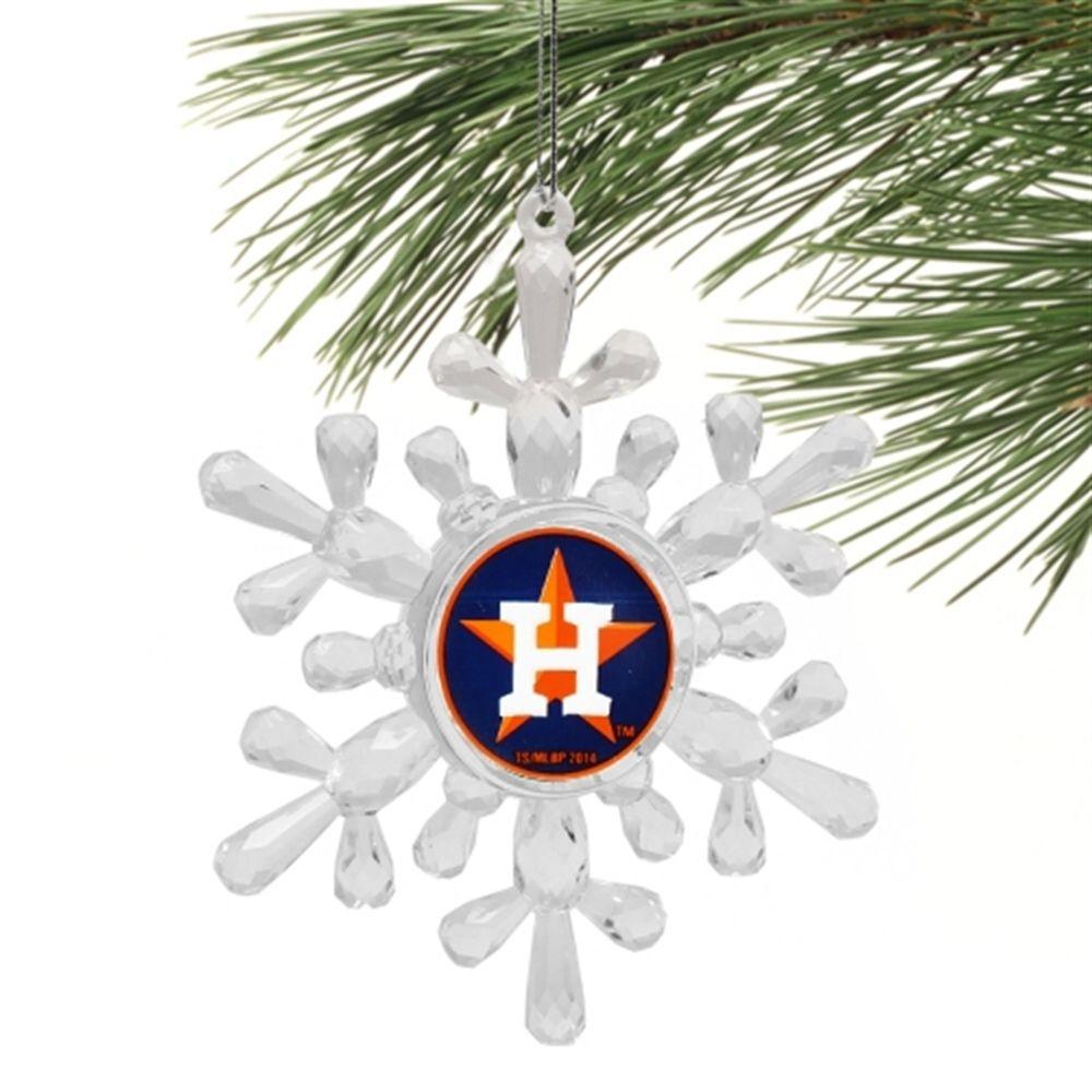 Christmas Tree San Jose: Houston Astros Snowflake Ornament