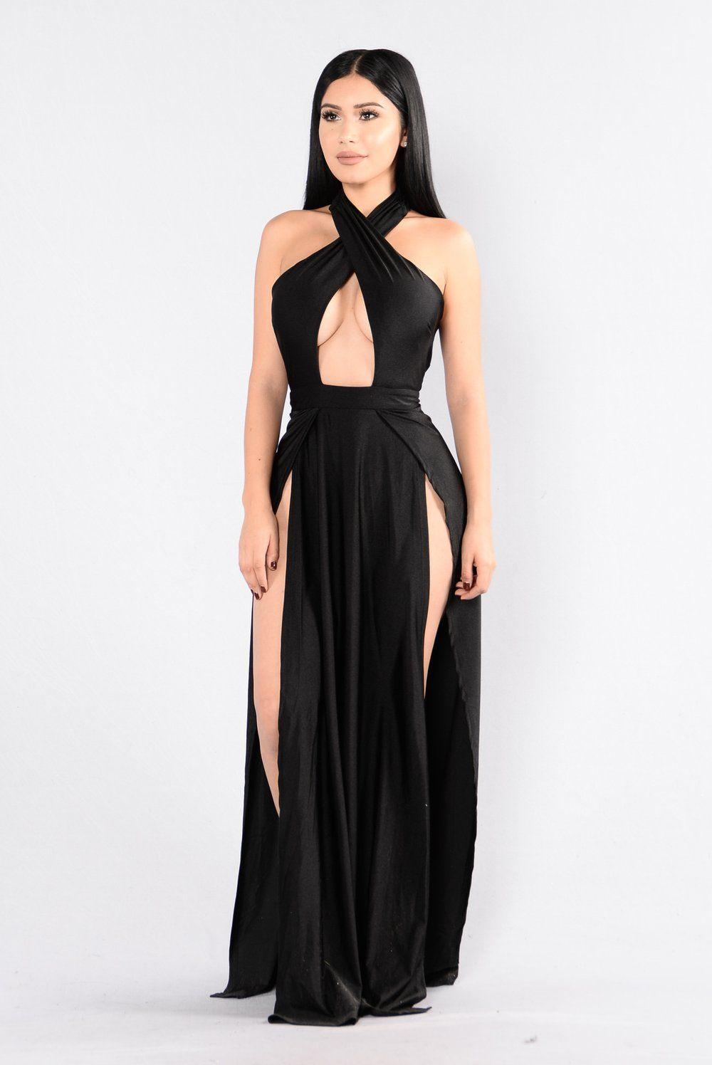 Curve appeal dress black fashion nova dress