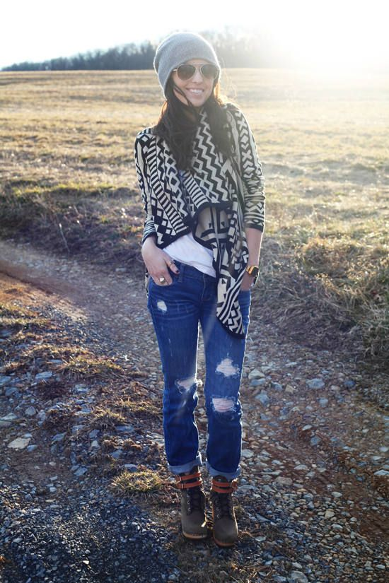 Sunday Drive ( Denim Jeans & Booties & Ankle boots )