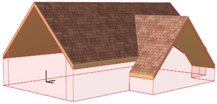 Cross Gable Roof Help Center Archicad Bimx Bim