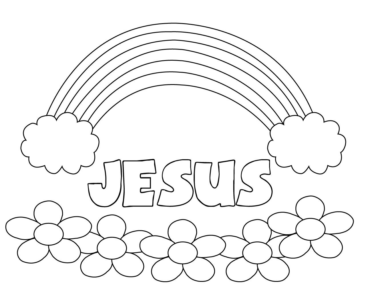 Free Printable Easy Toddler Coloring Pages Online Bible Coloring