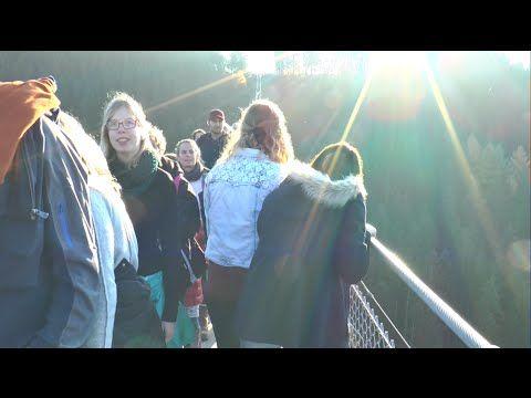 24.09.2015 Abspannung Hängeseilbrücke. Lagebeurteilung - YouTube