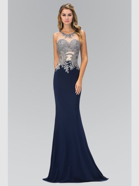 Stunning Halterneck Style With Exquisite Hand Beaded Lace A Cut Out