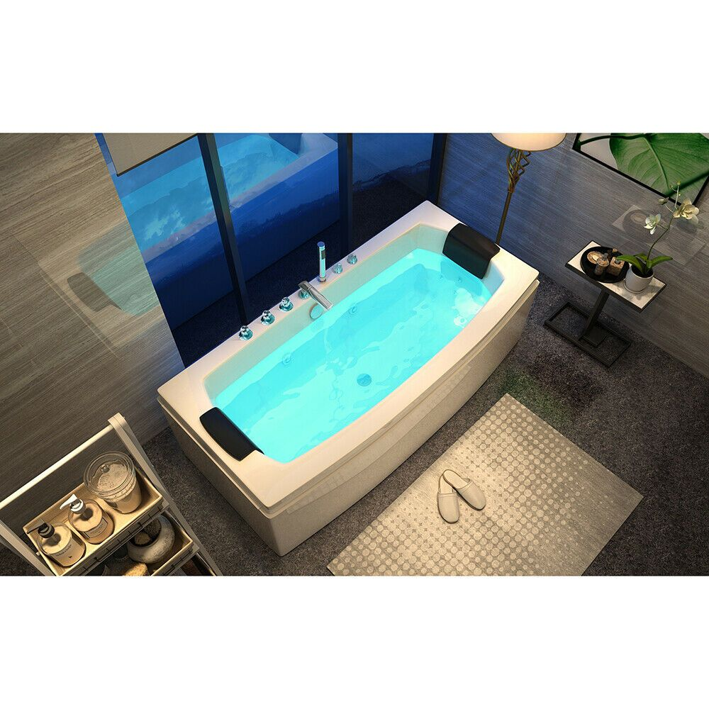 Details Zu Home Deluxe Whirlpool Eckbadewanne Badewanne Wanne Pool Spa Bodyjets Eckbadewanne Pool Spa Badewanne
