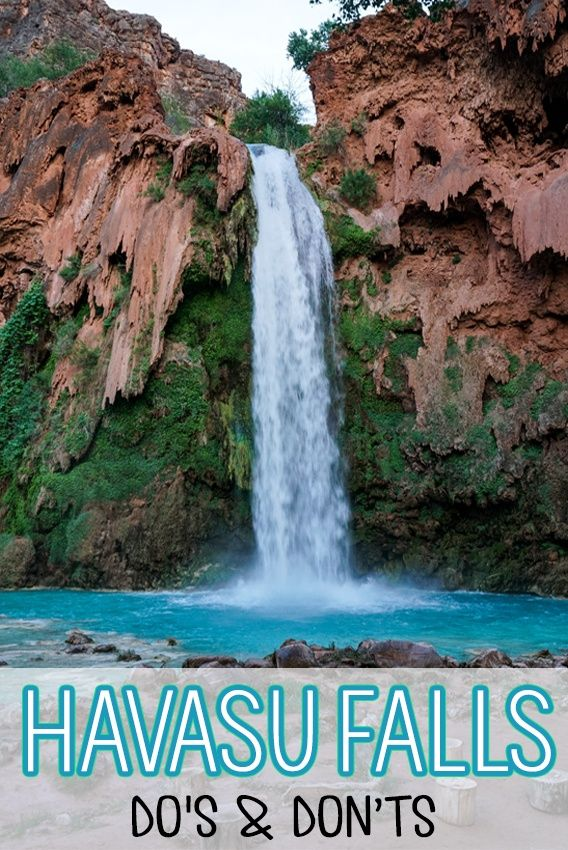 Havasu Falls Dos Don Ts Tips For A Successful Hike Havasu Falls Camping Havasu Falls Arizona Travel
