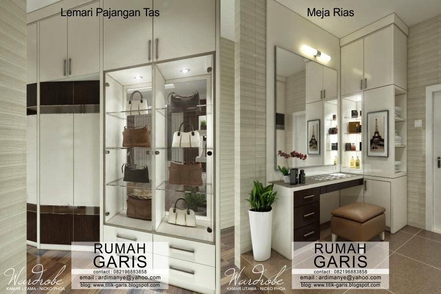 Desain Interior Rumah Pak Nicko Di Makassar Interior Lemari