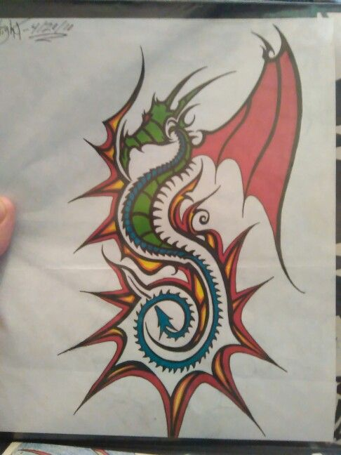 Dragon tat