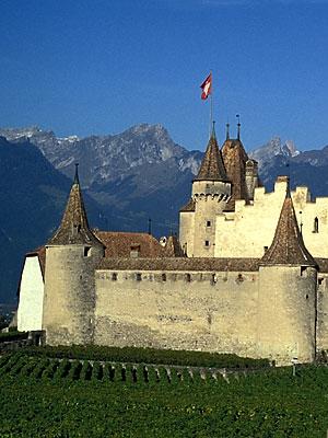 Aigle Castle, Switzerland