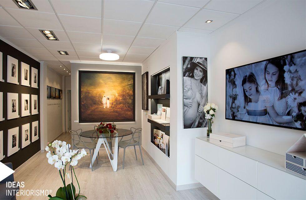Proyecto de interiorismo del estudio de fotograf a de maru for Master interiorismo valencia