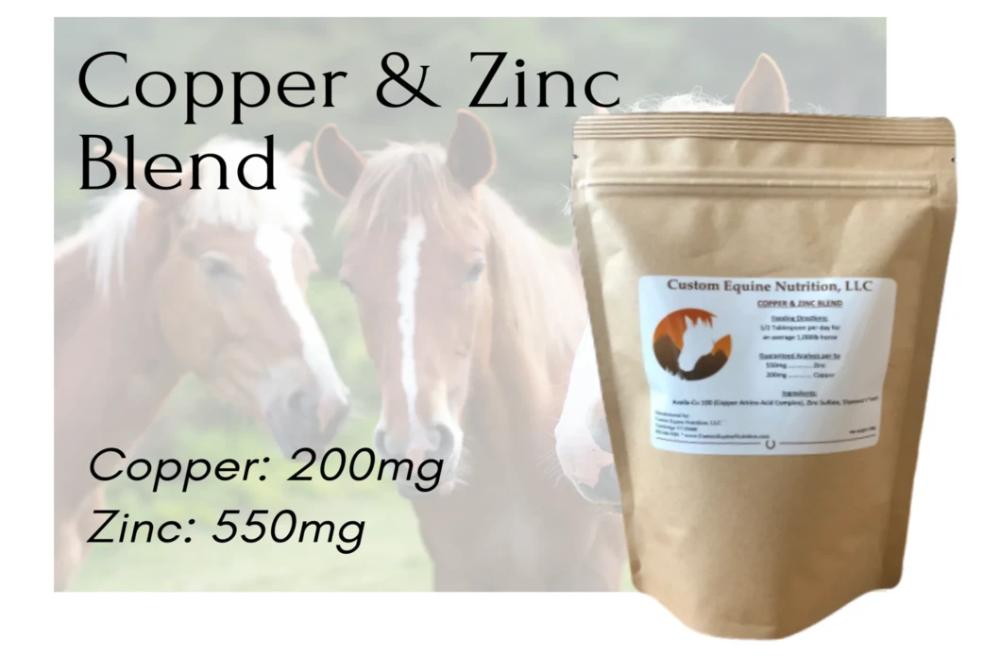 Copper / Zinc Blend in 2020 Equine nutrition, Horses