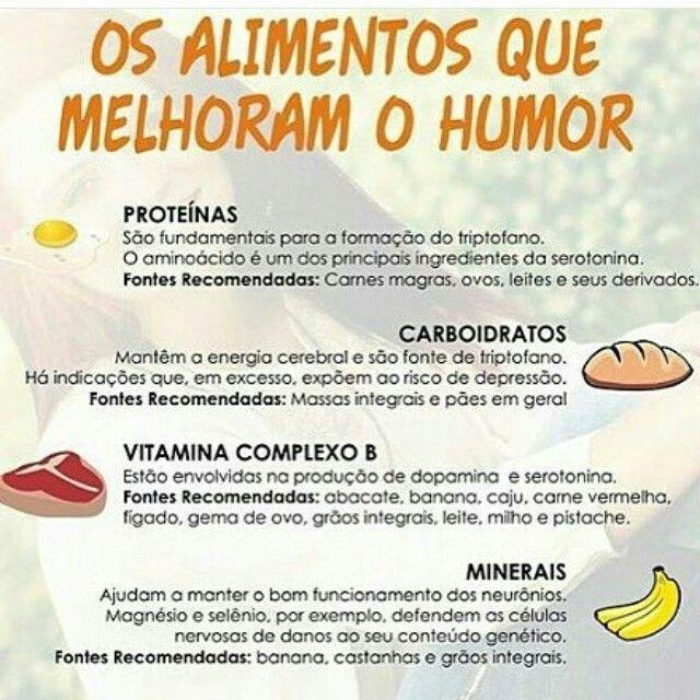 Os alimentos que melhoram o bom humor - Imagem do Instagram