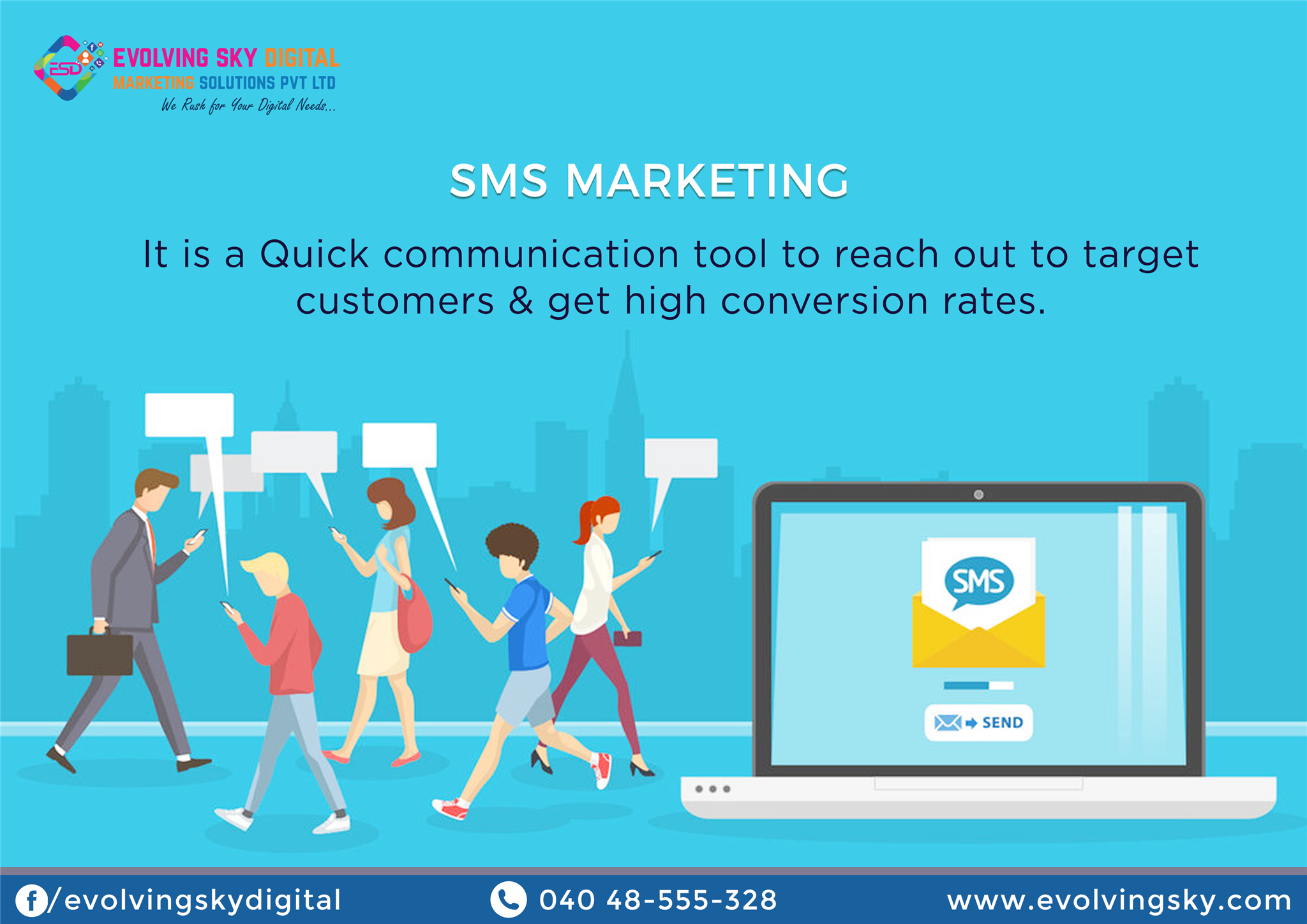 SMSMarketing Texting has by far the best engagement rate
