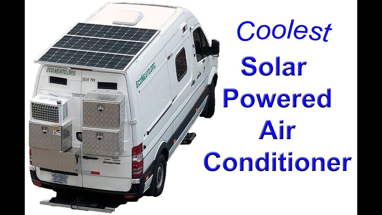 Solar / Tesla Lithium Battery Powered Air Conditioner for