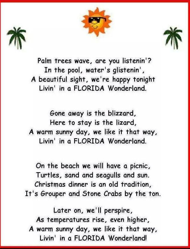 A Christmas Carol from Florida to get you in the spirit!