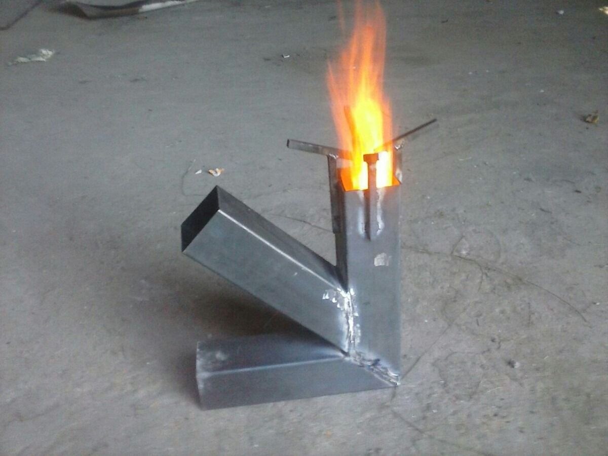Resultado de imagen para medidas rocket stove cocina for Planos para fabricar una cocina cohete