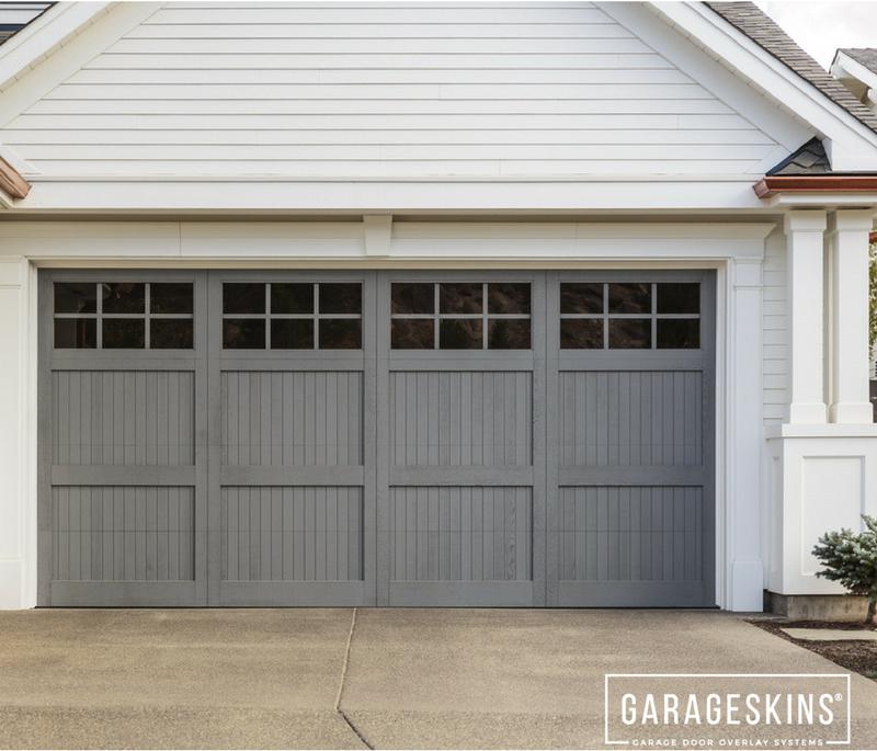 Transform Your Metal Garage Door With Garageskins Almost Garagespot In 2020 Metal Garage Doors Garage Doors Diy Garage Door