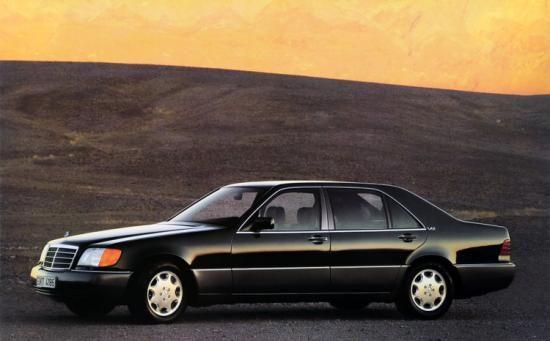 Klassieker Mercedes Benz S600 W140 Mercedes Benz W140