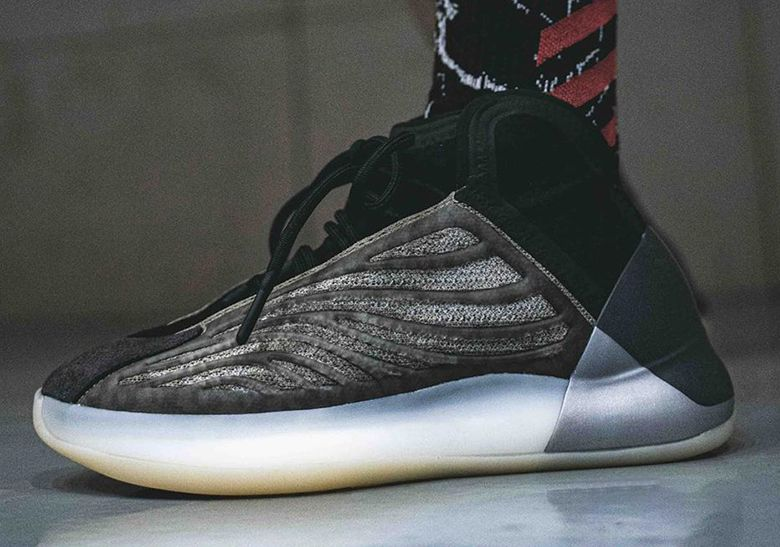 On Foot Look At The Upcoming Adidas Yeezy Quantum Barium In 2020 Adidas Yeezy Adidas Yeezy