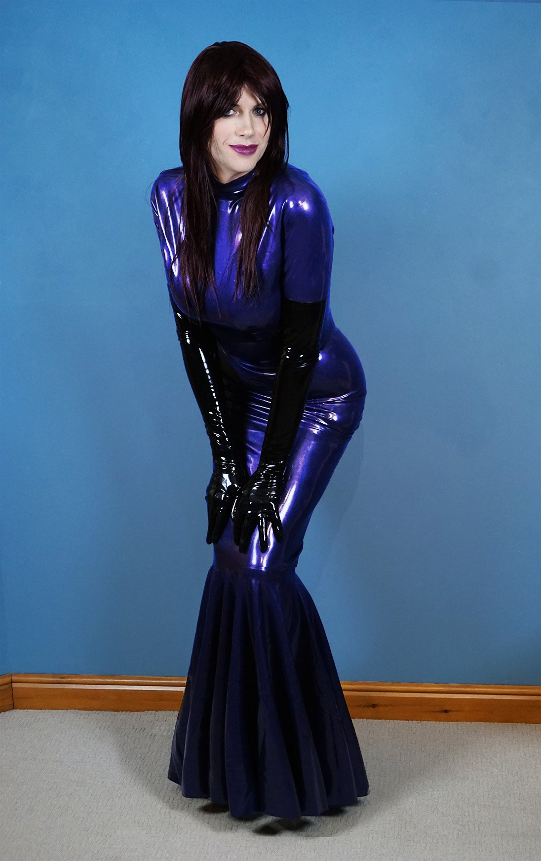 Exelent Latex Prom Dress Component - Womens Dresses & Gowns ...