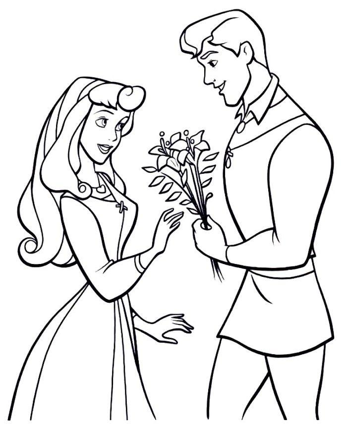 pTqrARpT9jpg (700×856) Disney Princesses Pinterest - new disney princess coloring pages sleeping beauty