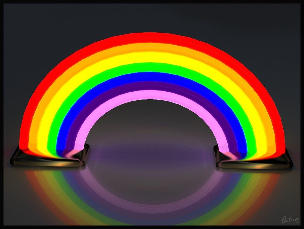 Neon Rainbow by Peter Brush (peterbru) | Neon Expressions ...