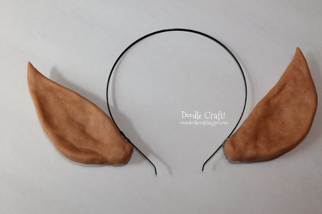 Doodle Craft Elven Princess or Christmas Elf Ears Headband
