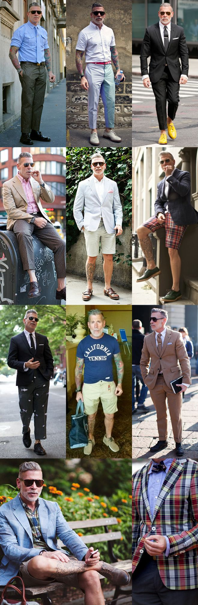 Why can't all grandpas look this nice What a fashionista
