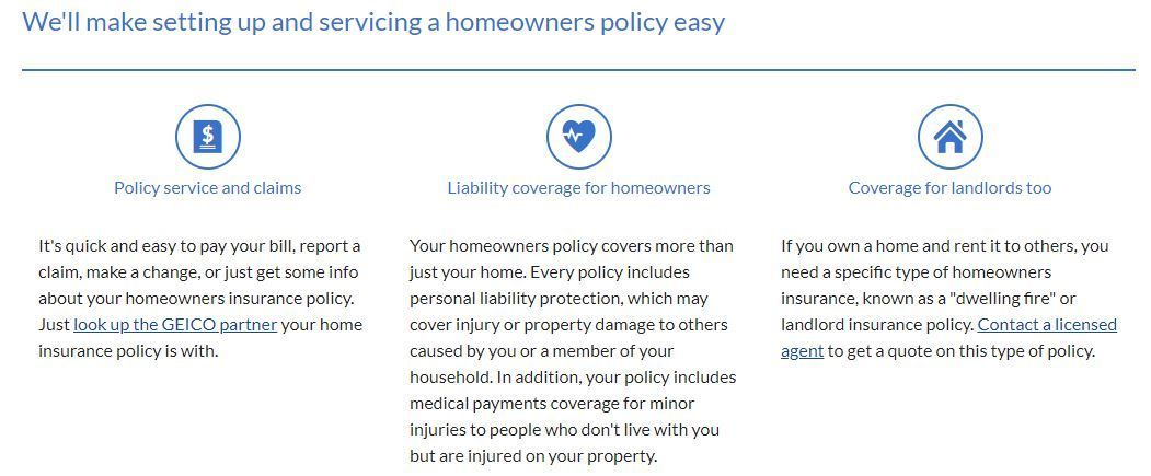 Geico Homeowners Insurance Quote Pictures In 2020 Home Insurance