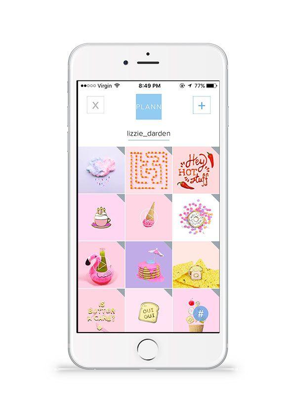 lizzie darden Instagram grid, Instagram, App