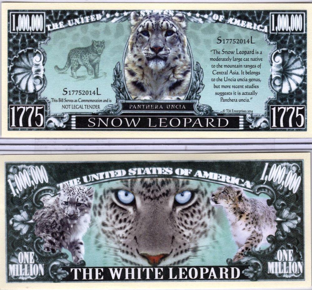 Cat Series Million Dollar Novelty Money The Tabby Cat