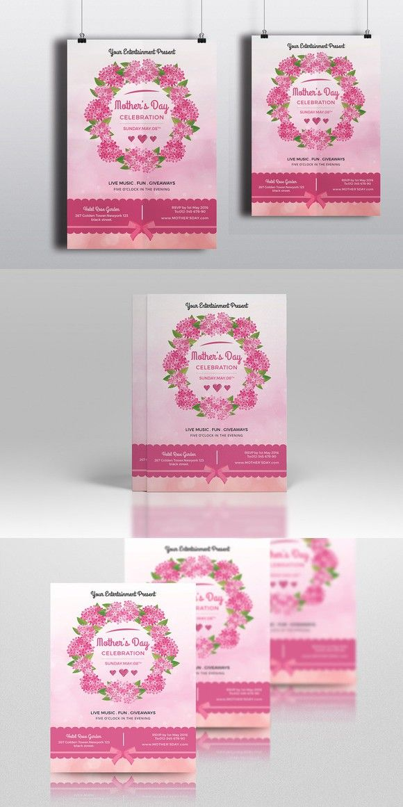 MotherS Day Flyer TemplateV  Flyer Templates
