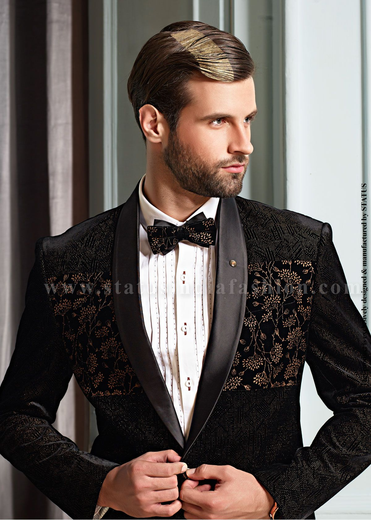 822b1532 Ds111 | TUX FOR MEN | Denim jacket fashion, Designer suits for men ...