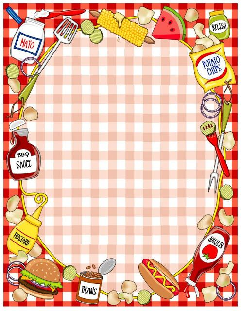 PICNIC / BBQ FRAME | Kleimatjes | Pinterest | Scrapbook frames ...