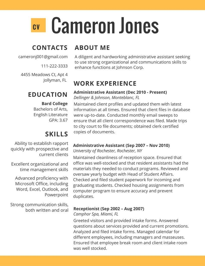 resume examples 2017 for jobs #examples #resume #resumeexamples