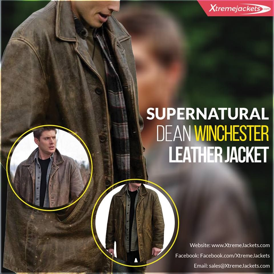 Dean Winchester Leather Jacket For Sale Supernatural Coat Leather Jackets For Sale Leather Jacket Men Supernatural Dean Winchester [ 960 x 960 Pixel ]