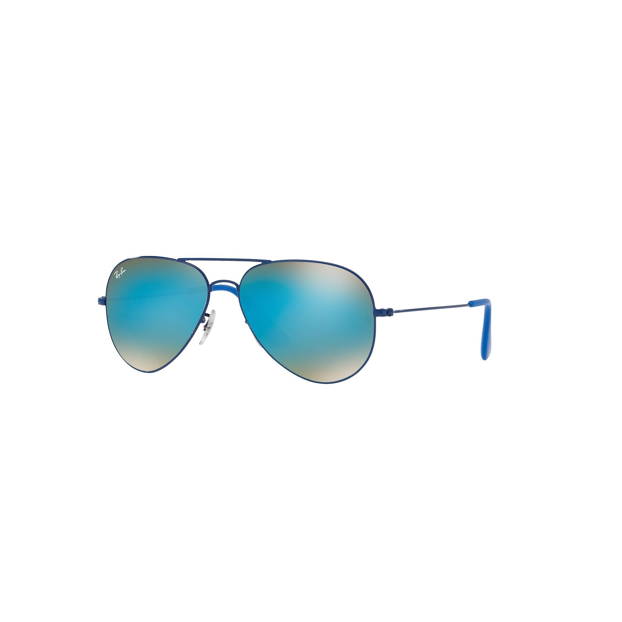61b3663de6 Ray-Ban Youngster RB3558 58mm Aviator Gradient Flash Sunglasses ...