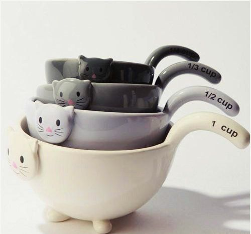 Fancy - Catty Family Tea Cup Set | Products Şakir likes | Pinterest ...