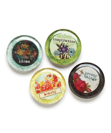 Take a look at this 'Inspiration' Magnet Set by DEMDACO on #zulily today!