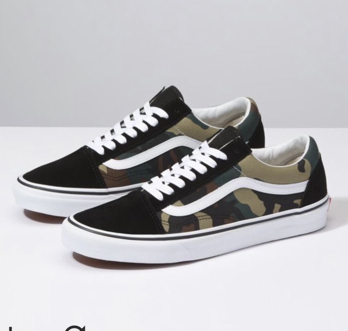 Vans Old Skool (Woodland Camo)