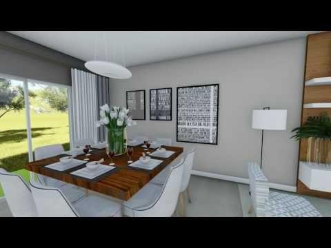 (70) House Plan Virtual Tour   3 Bedroom House   1,216 Square Feet